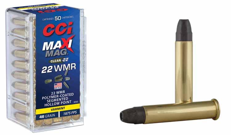 CCI Maxi-Mag Segmented HP in 22 WMR