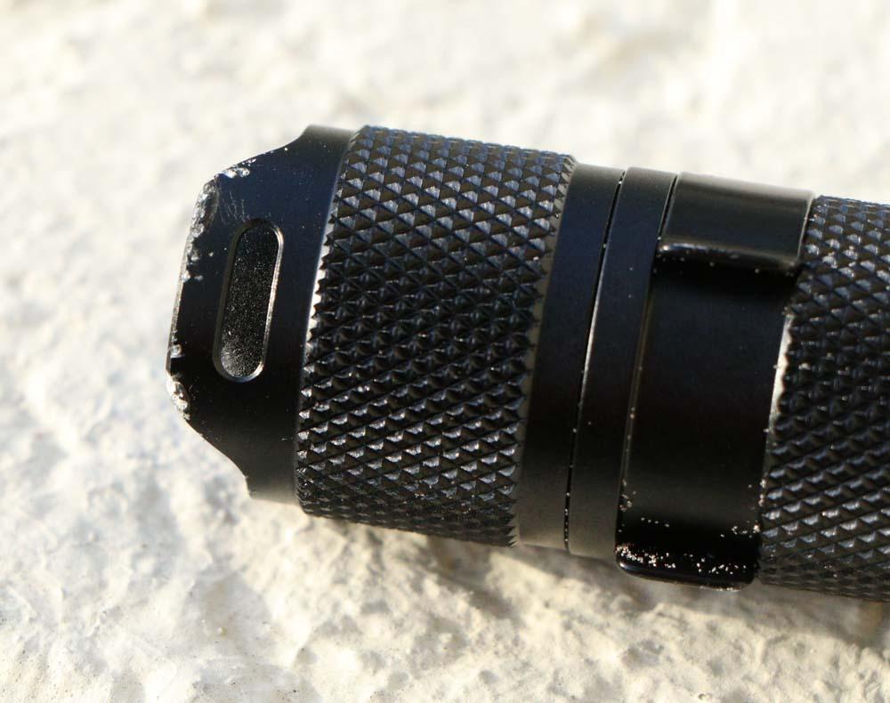 Wowtac A7 Flashlight Review drop testing