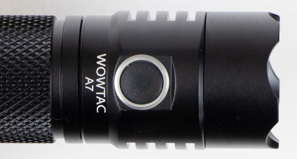 Wowtac A7 Flashlight side button