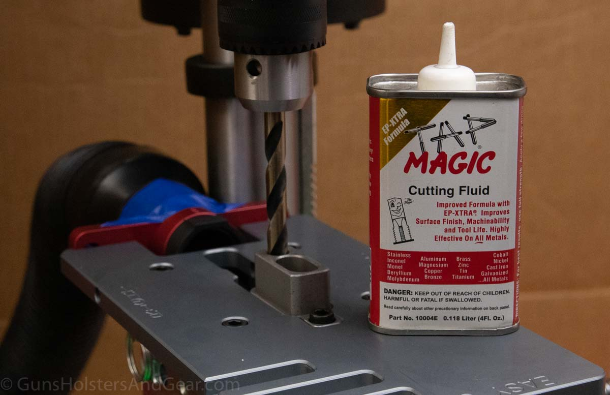 Best Cutting Fluid for Milling a Firearm Receiver
