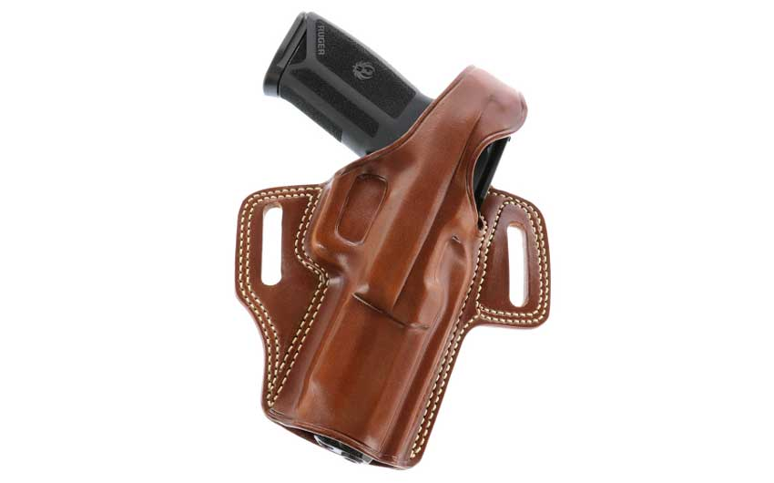 Galco Fletch Leather OWB Holster for Ruger-57