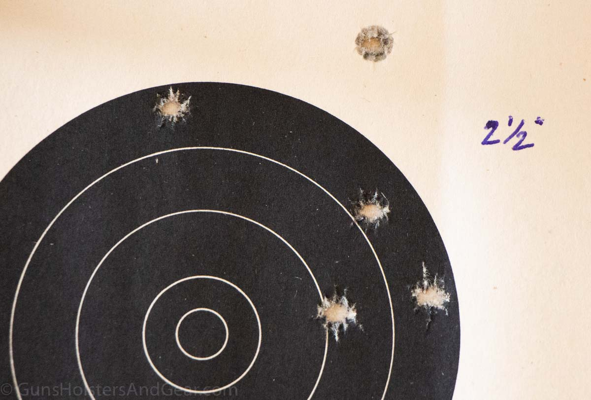 Mossberg 464 SPX Accuracy Testing
