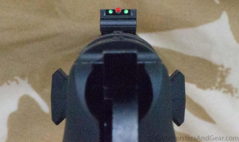 Sights on Mossberg 464 SPX Rifle