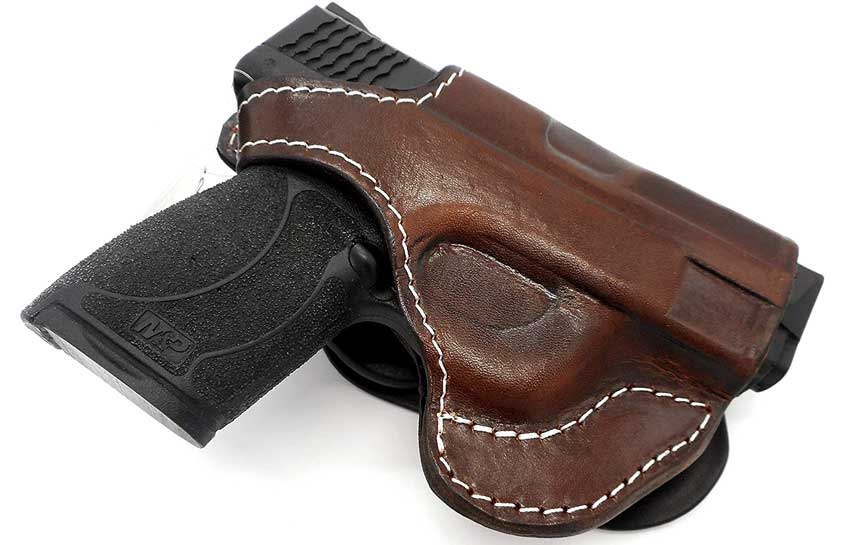 Tagua Leather Holster for Shield 9mm