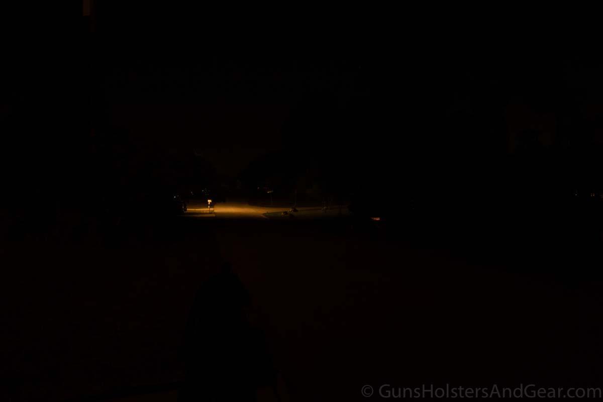 Night Testing 101 Yards Control
