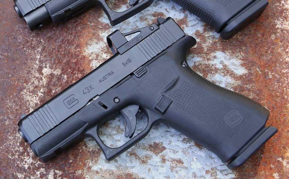 Shield RMSc on Glock pistol