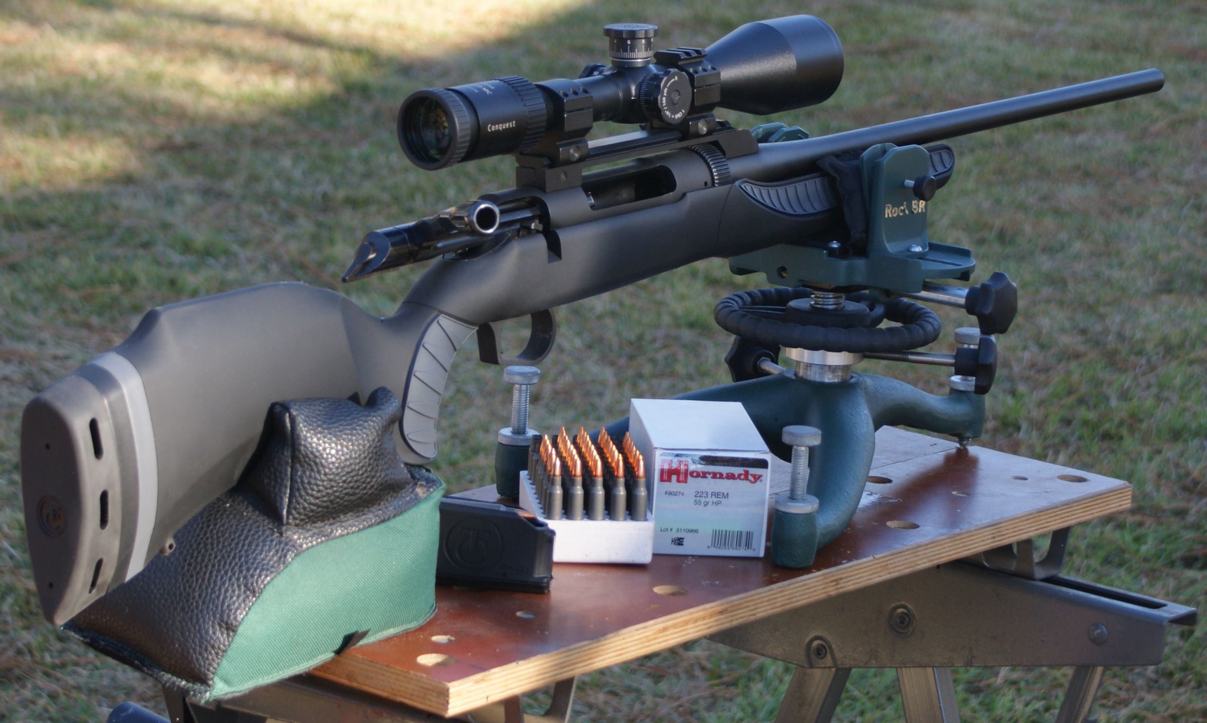 Thompson Center Arms Dimension Rifle Review Part 6