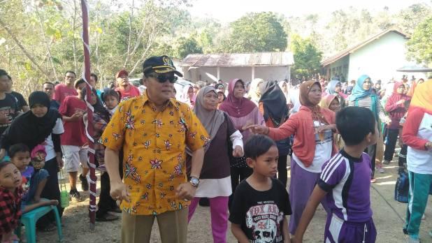 Senam Sehat di Desa Serut Gedangsari Bersama Gandung Pardiman