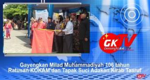 Ratusan KOKAM dan Tapak Suci Meriahkan Milad Muhammadiyah 106/109 Tahun