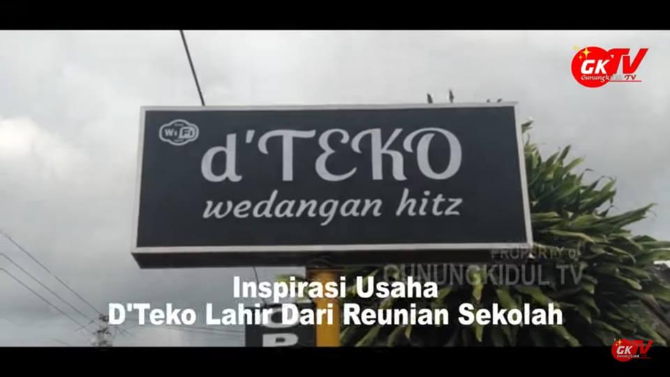 Gb. Salah satu cafe terhits di Gunungkidul Cafe d'Teko Wonosari