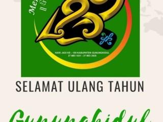 Simak Resepsi Hari Jadi Kabupaten Gunungkidul ke 189 Tahun
