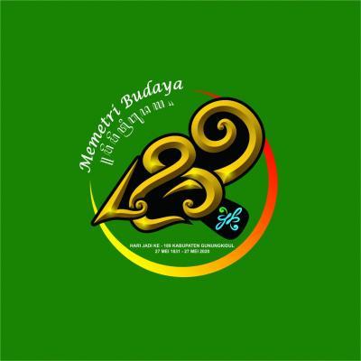 Logo Ulangtahun Gunungkidul 189 tahun