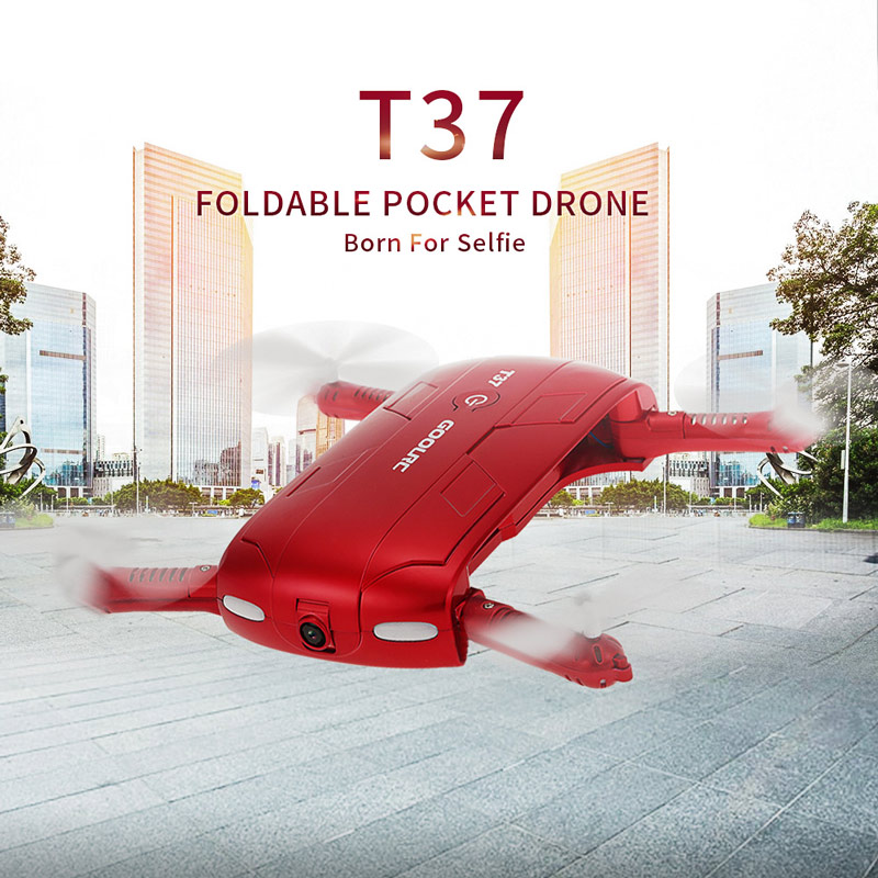 Dron Plegable FPV GoolRC T37 por 32 euros