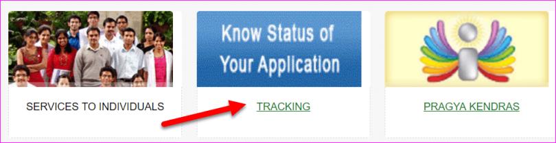 Tracking option