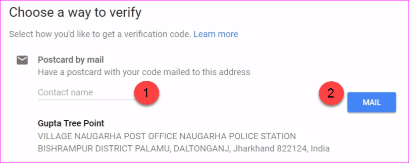 Verify By Mail