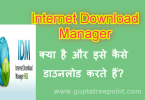 Internet download manager kya hai