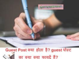 Guest Post क्या होता है