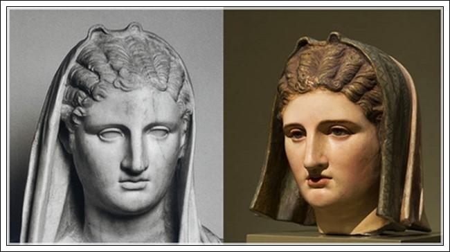 La Gran diosa de Herculano (s. I d. C)