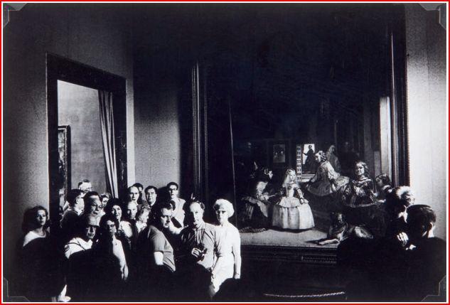 Ramón Masats. La Sala de Las Meninas, 1964. Museo Reina Sofía.