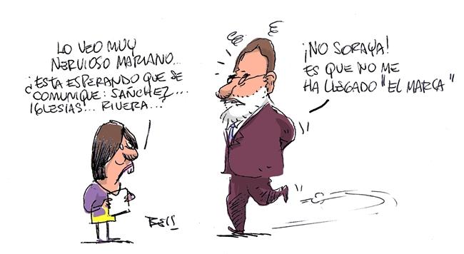 nervioso Rajoy