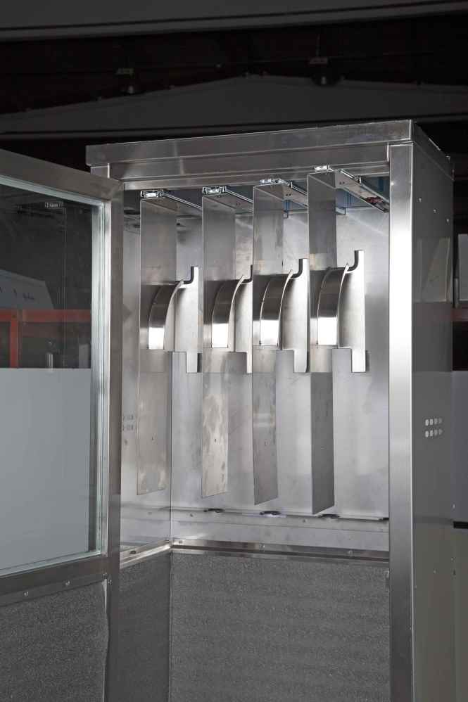 Endoscopy Cleaning Room: Endoscope Cabinet Hangers