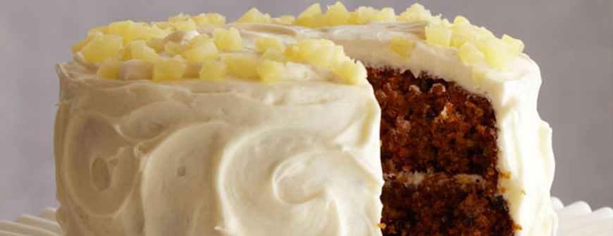 Pineapple Honey Carrot Cake