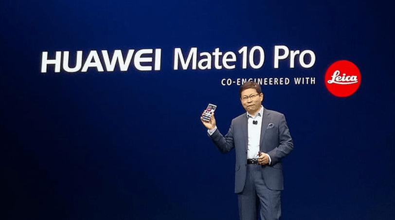 CES 2018 Huawei