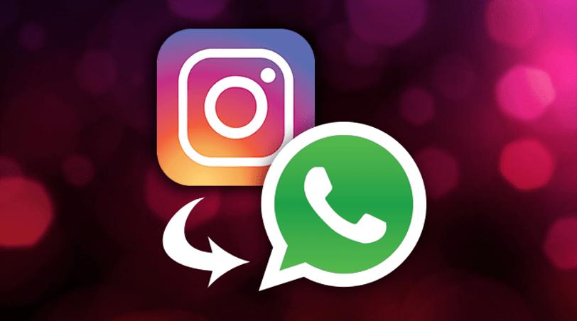 Stories do Instagram pode ser compartilhado no Whats App