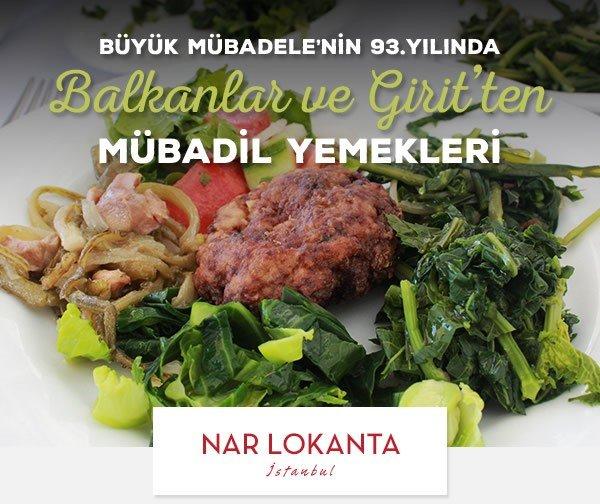 Balkanlar ve Girit'ten Mübadil Yemekleri