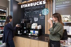 Premium self servis kahve: Starbucks on the go