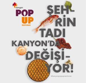 Kanyon Pop Up Restoran 2018