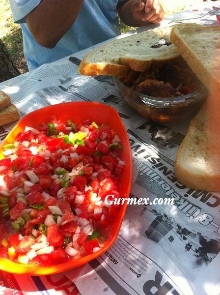 Bafra Altınkaya barajı domatesli sazan kızartması