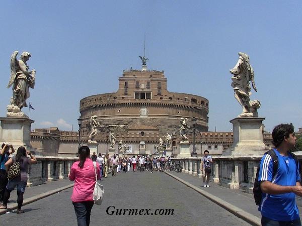 Roma Castel Sant Angelo - Melek Kalesi 3