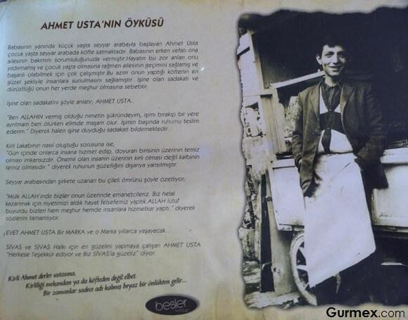 Köfteci Kirli Ahmet Usta, Sivas'ta köfte nerede yenir