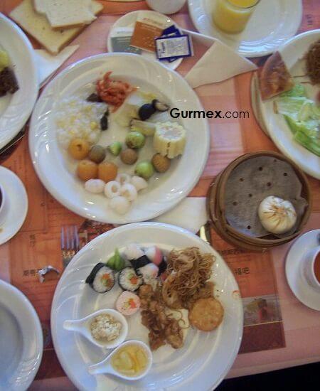 Çin Yeme İçme, Çinde kahvaltı nerede nasıl yapılır