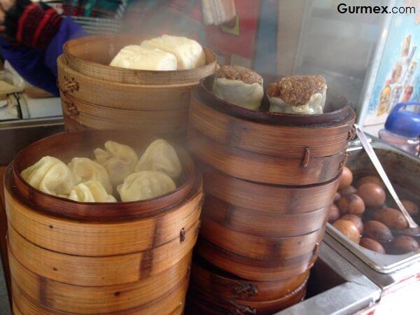 Çin Yeme İçme Dimsum çiğ hamur çin mantısı