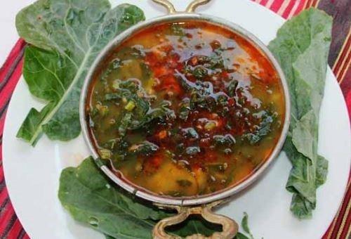 Ordu mutfağı yemek kültürü,pancar kara lahana çorbası