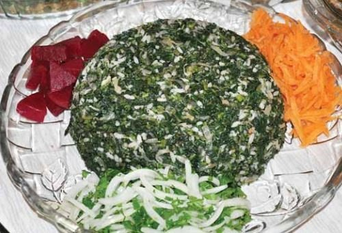 Ordu mutfağı pancar kara lahana diblesi
