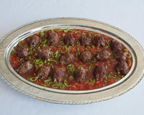 Altı Ezmeli Kebap Kuşbaşı ve Kıyma (Tike) - Gaziantep Yemekleri, Antep Mutfağı Kebaplar