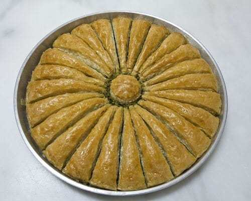 Havuç Dilim Baklava - Gaziantep Yemekleri, Antep Mutfağı Tatlılar