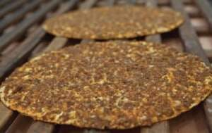 Soğanlı Lahmacun - Gaziantep Yemekleri, Antep Mutfağı Pideler ve Börekler