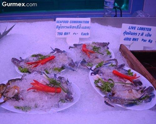 Sea Food Restaurant Bangkok Tayland gurme rehberi