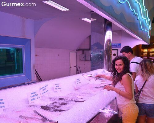 Sea Food Restaurant Bangkok,Tayland yeme içme mekanları