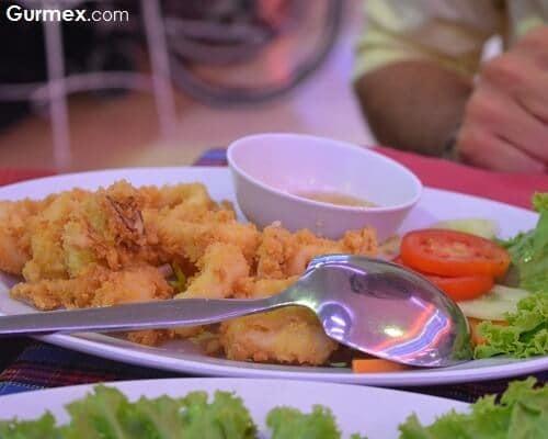 Sea Food Restaurant Bangkok,Tayland kalamar nerede yenir
