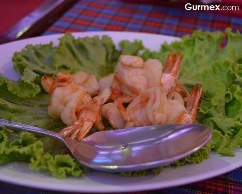 Sea Food Restaurant Bangkok,Tayland yengeç nerede yenir