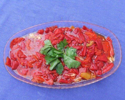 Biber parpullaması nedir nasıl yapılır, Çanakkale yemekleri yöresel salatalar gurme blog