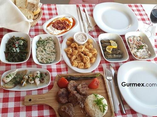 Ayazma Restaurant, Bozcaada ne yenir