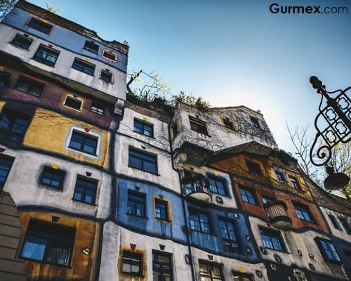 Viyana Gurme gezilecek yerler Hundertwasserhaus