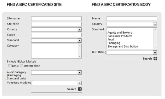 BRC Directory Search