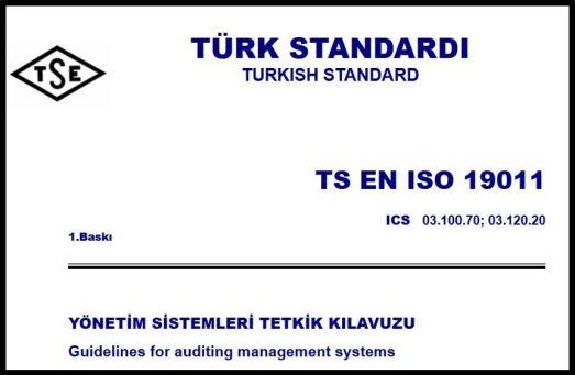 TSE ISO 19011 2018 Yönetim Sistemleri Tetkik Kılavuzu